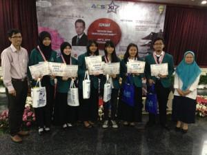 Pemenang ACSI XI Angkatan 2014