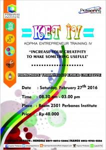 Poster KET IV