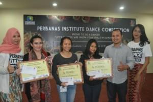 Pemenang kompetisi Modern Dance