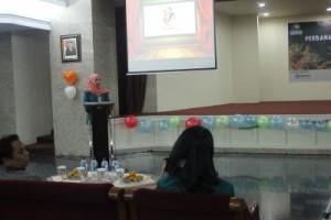Sambutan Ketua Kreasi Seni Perbanas Periode 2015/2016, Nadila Zikrina